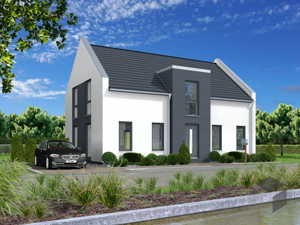 Satteldachhaus Typ 1 von Botan Haus Außenansicht