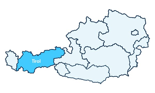 Wo liegt Tirol?
