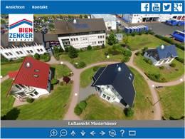 Ausgewählte Bien-Zenker Häuser als virtuelle Besichtigung
