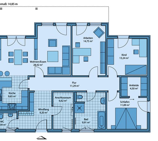 Adagio 120 Floorplan 1
