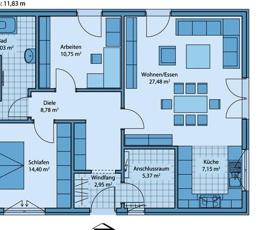 Adagio 85 Floorplan 1