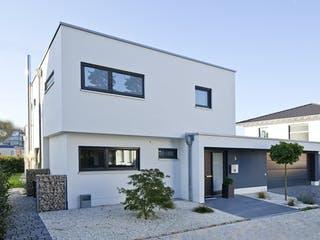 Schönborn von AIM Hausbau Außenansicht 1