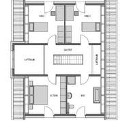 Aktiv-Energiehaus (inactive) Grundriss