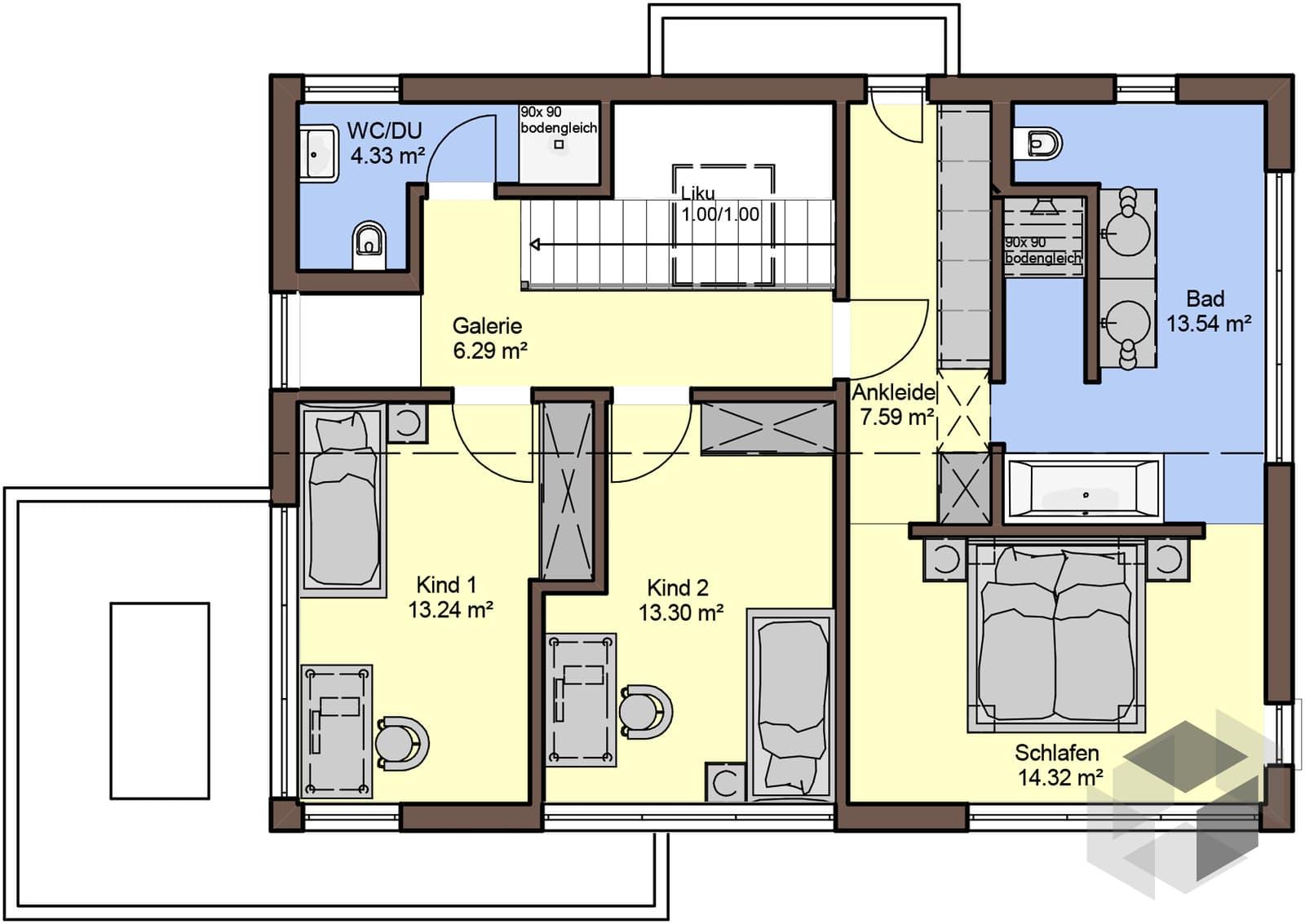 akzento von b denbender hausbau komplette daten bersicht. Black Bedroom Furniture Sets. Home Design Ideas