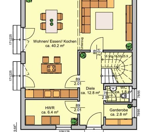 Albertino 128 A Floorplan 1