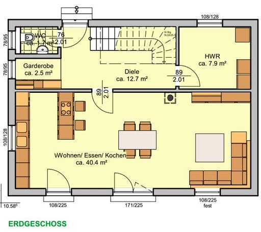 Albertino 129 A Floorplan 1