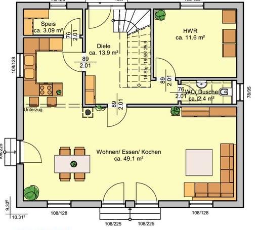 Albertino 154 C Floorplan 1