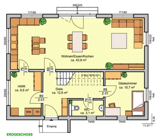Albertino 155 Floorplan 1