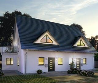 Schlüsselfertiges Fertighaus bis 150.000€ bauen | Fertighaus.de