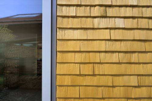 Holzfassade Holzschindel