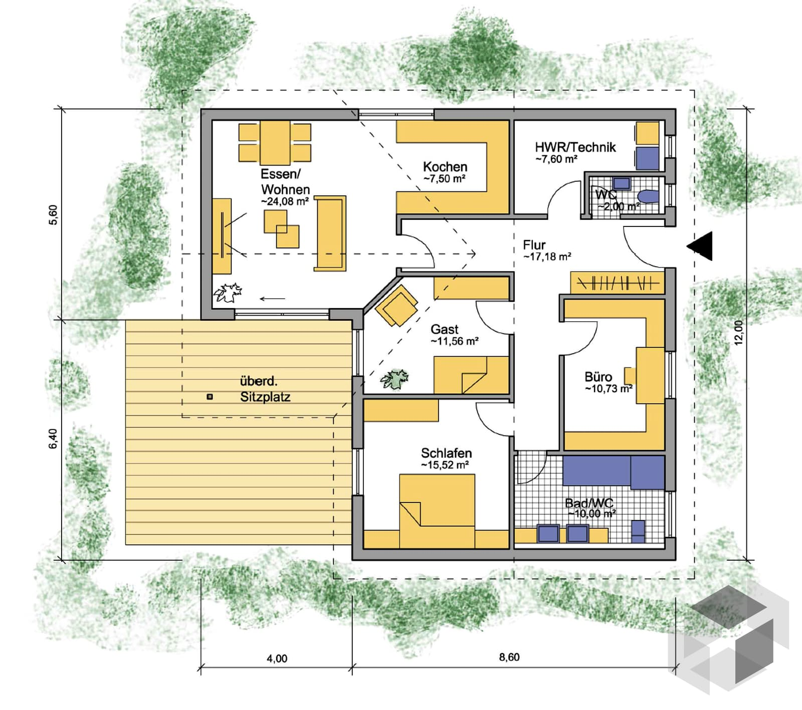 altusried inactive von iller haus komplette. Black Bedroom Furniture Sets. Home Design Ideas