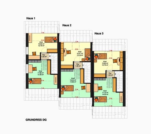 Am Hang 200 - (Reihenendhaus mit Tiefgarage) floor_plans 2