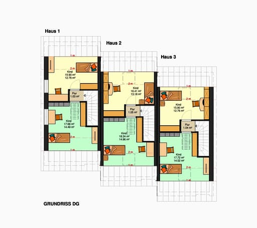 Am Hang 200 - (Reihenmittelhaus mit Tiefgarage) floor_plans 2