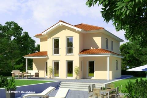Einfamilienhaus Ambiente 135 Von Favorit Massivhaus