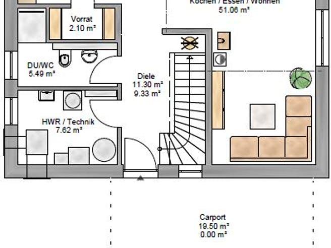 Ambiente 150 Floorplan 1