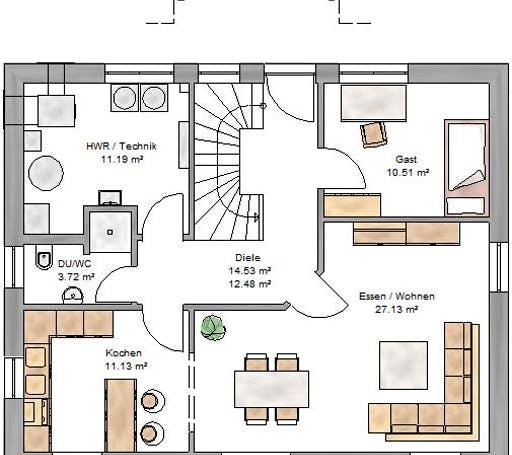 Ambiente 151 Floorplan 1