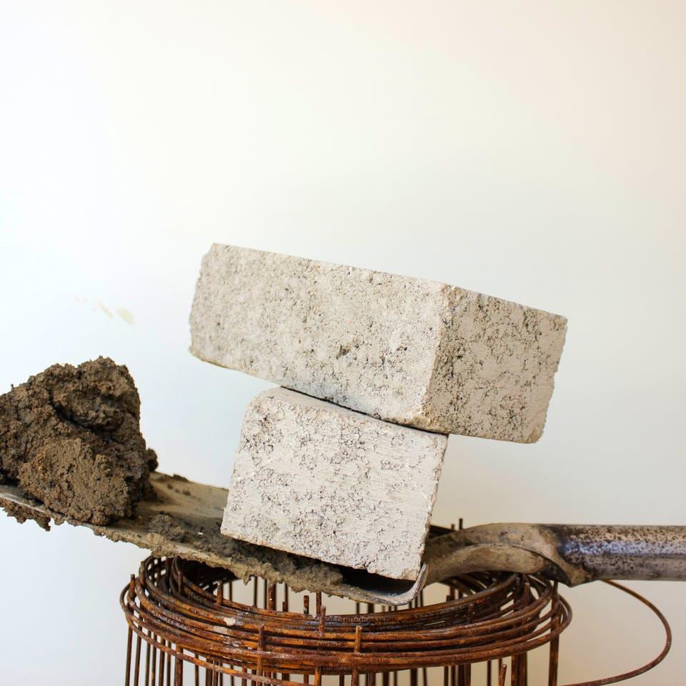 Zement als baumaterial