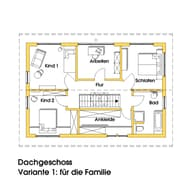 Anke (KfW-Effizienzhaus 40) Grundriss