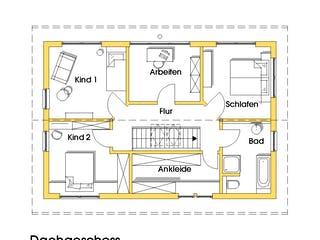 Anke (KfW-Effizienzhaus 40) von Dammann-Haus Grundriss 1