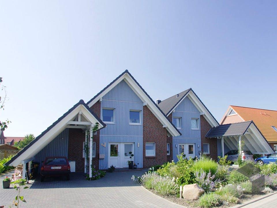 Anneke (KfW-Effizienzhaus 40) von Dammann-Haus Außenansicht