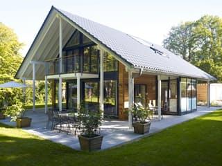 Fertighaus holz glas  Architektur aus Glas von Baufritz | komplette Datenübersicht ...