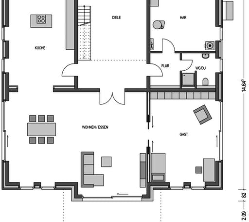 ARCUS WD.500.2 Floorplan 1