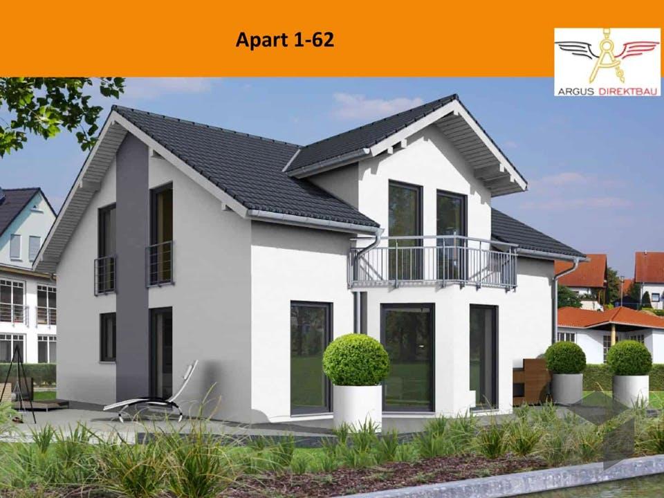Apart 1-62 von ARGUS Direktbau Außenansicht