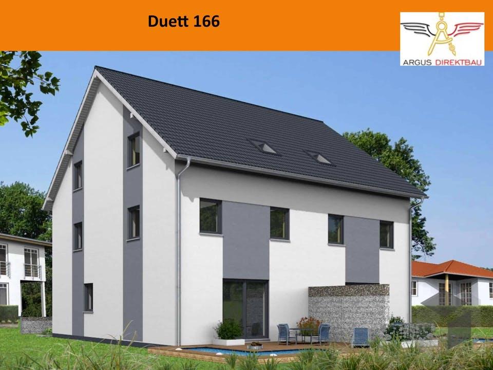 Duett 166 von ARGUS Direktbau Außenansicht