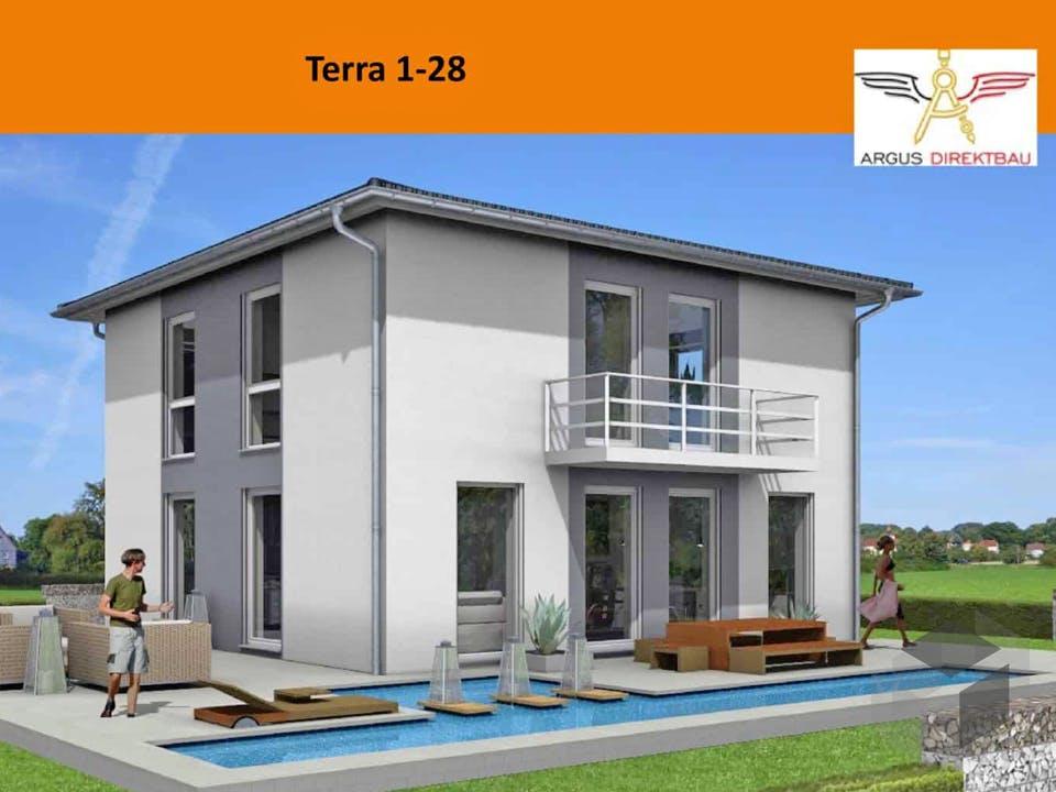 Terra 1-28 von ARGUS Direktbau Außenansicht