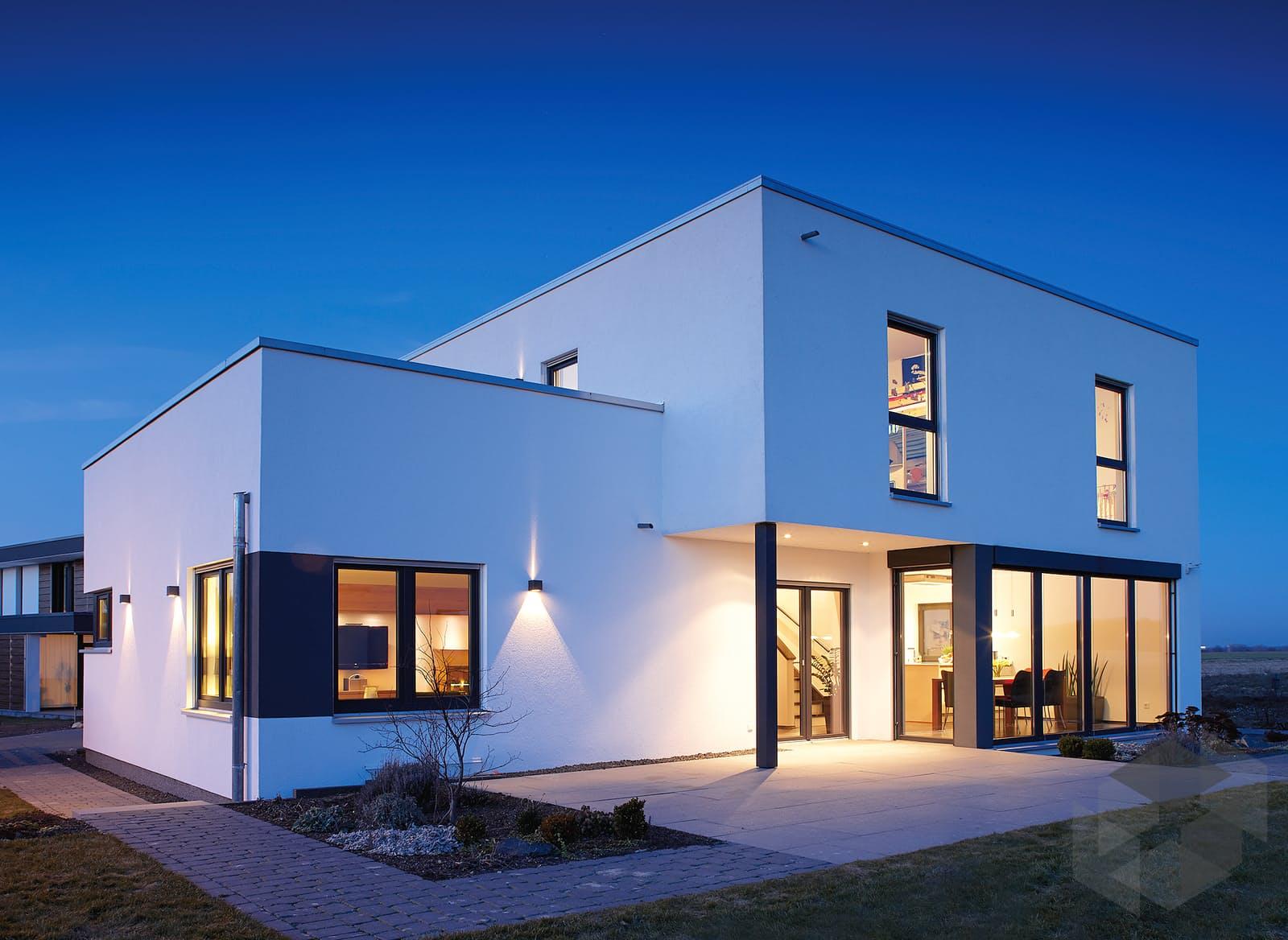 at das einfamilienhaus mit flachdach von fingerhaus komplette daten bersicht. Black Bedroom Furniture Sets. Home Design Ideas