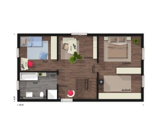 Aura 125 Elegance Floorplan 2
