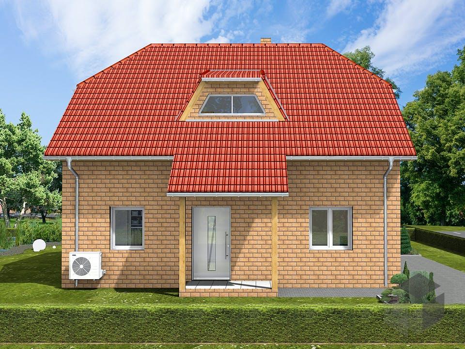 Dorina von AVOS Hausbau Außenansicht
