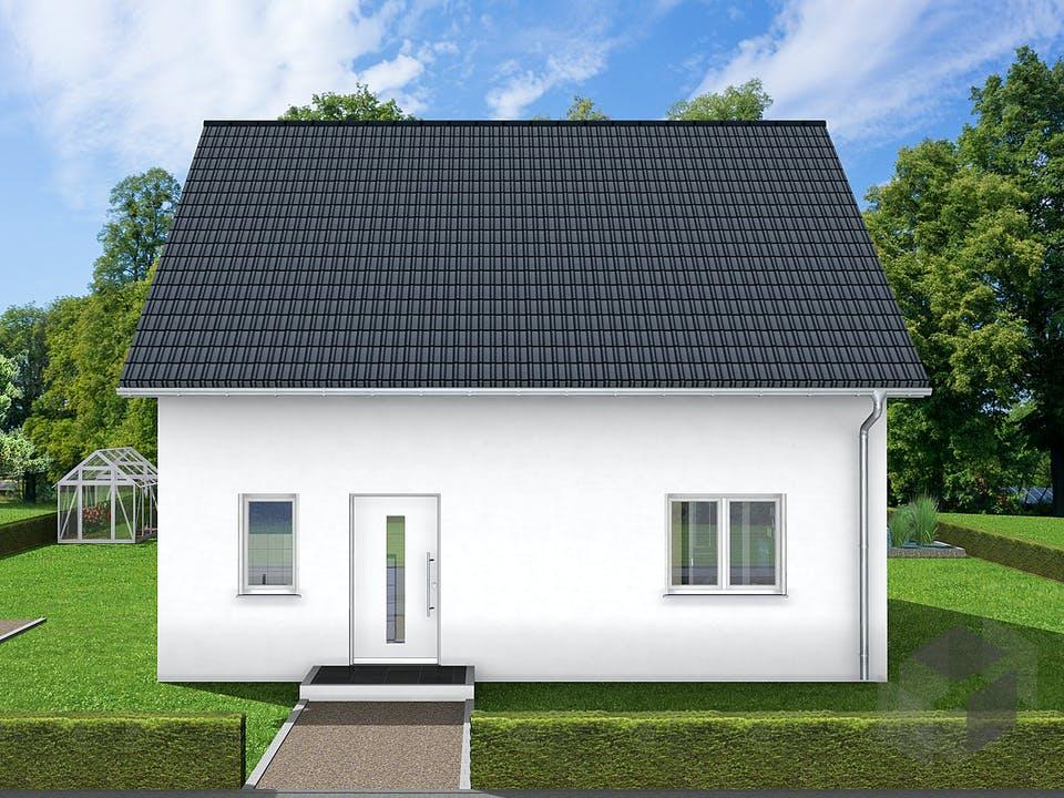 Gina von AVOS Hausbau Außenansicht