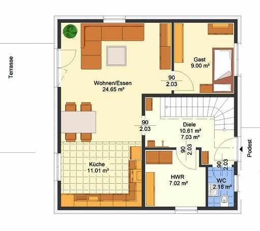 Avos - Gina Floorplan 1