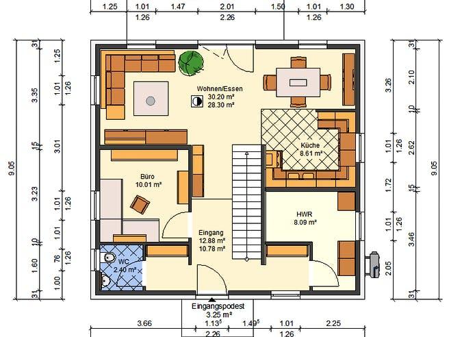 AVOS Glockenblume Floorplan 1