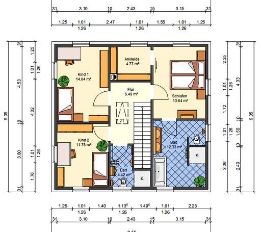 AVOS Glockenblume Floorplan 2