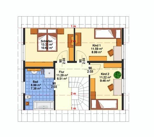 Avos - Kern Floorplan 2