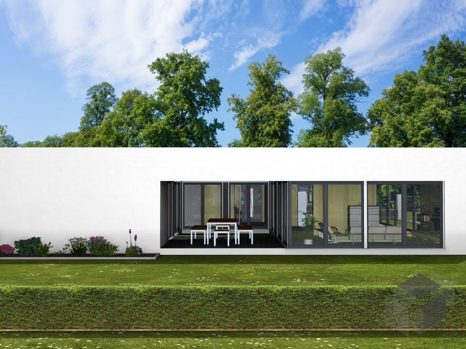 Marienblüte von AVOS Hausbau Außenansicht