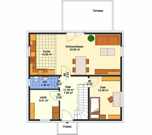 Avos - Olina Floorplan 1