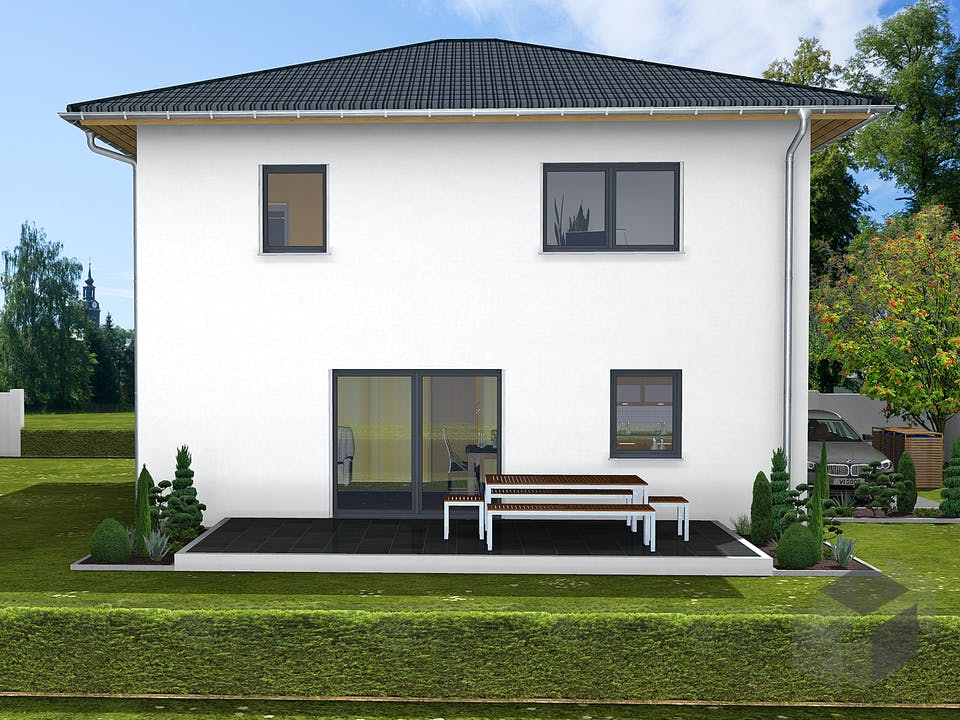 Paulina von AVOS Hausbau Außenansicht