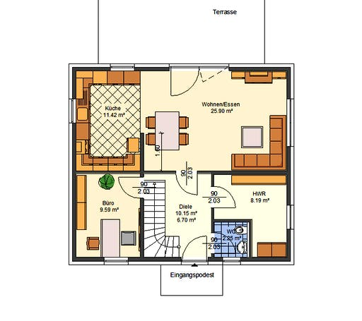 Avos - Paulina Floorplan 1