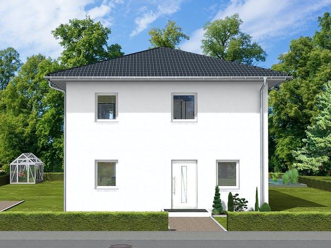 Pia von AVOS Hausbau Außenansicht 1