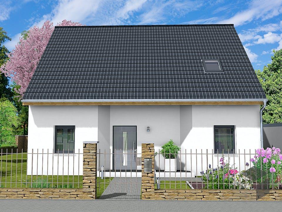 Wenke von AVOS Hausbau Außenansicht