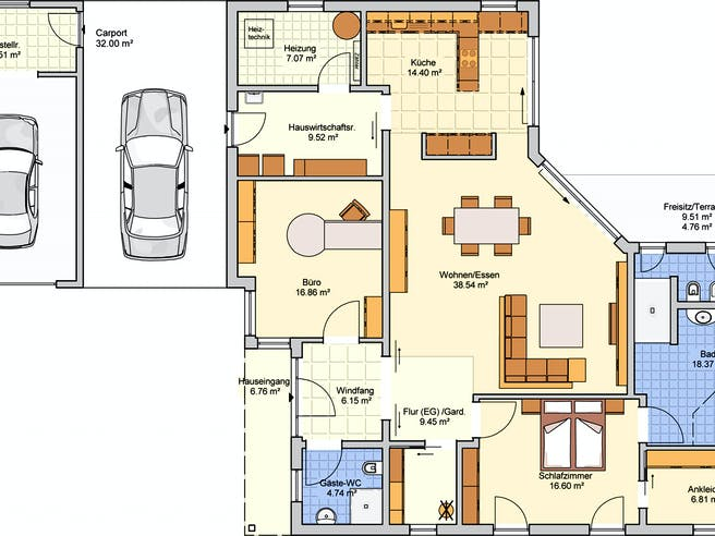 Cilia von Fingerhut Haus Grundriss 1