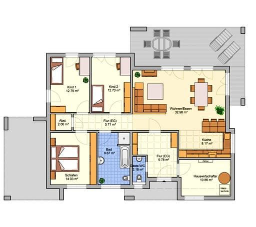 B 130.10 Floorplan 1