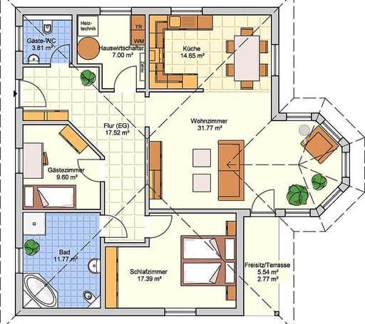 B 136.10 Floorplan 1