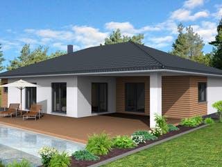 Bungalow 150 von Suckfüll - Unser Energiesparhaus Außenansicht 1