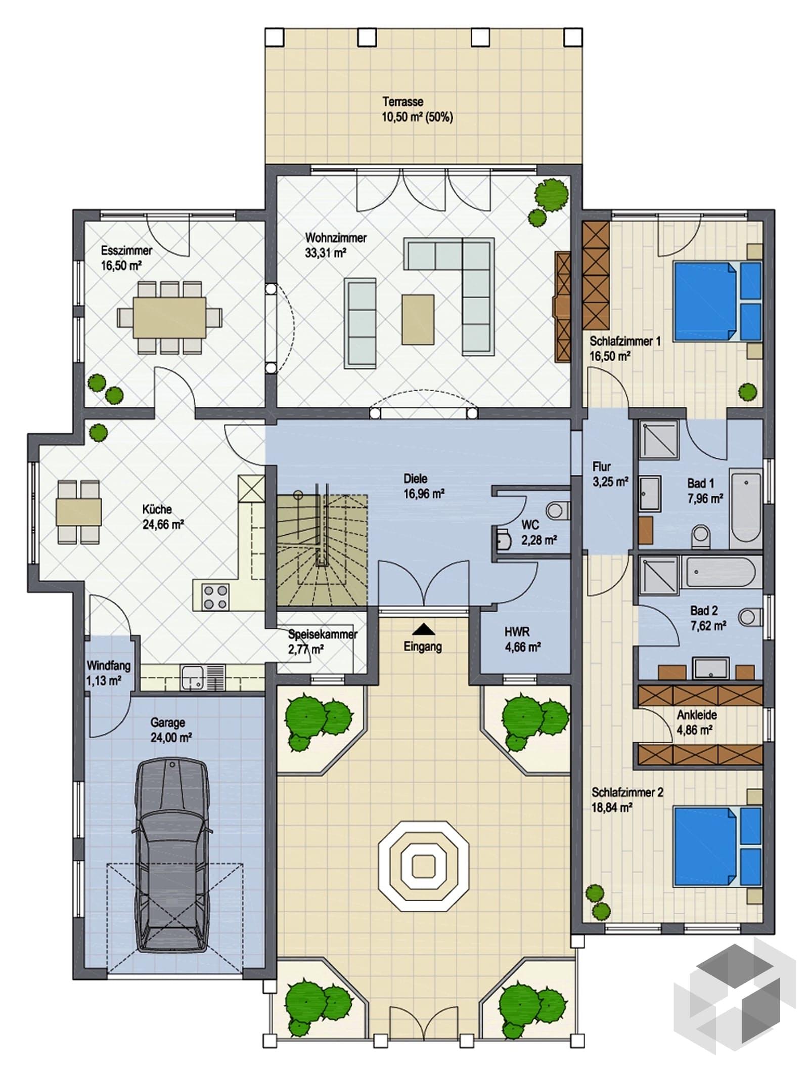 villa bahia i von argisol bausysteme bewa gmbh. Black Bedroom Furniture Sets. Home Design Ideas