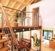 Bambus Innenaufnahmen