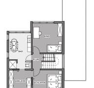 Bauen auf engstem Raum Grundriss